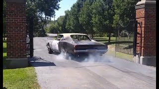 Download 1969 Dodge Charger Hellcat ″Reverence″ - driving & burnout Video