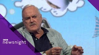 Download John Cleese on Brexit, newspapers and why he's leaving the UK - BBC Newsnight Video