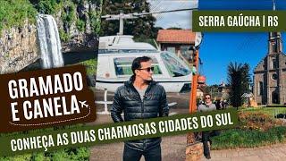 Download De bondinho e helicóptero, conheça Gramado e Canela na SERRA GAÚCHA Video