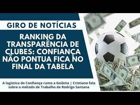 Ranking da transparência de Clubes: Confiança não pontua fica no final da tabela | Giro de Notícias