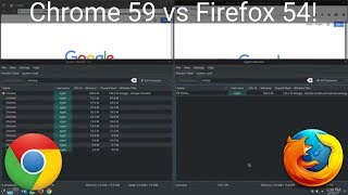 Download Firefox 54 vs Chrome 59 Benchmark On Ubuntu Linux Video