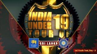 Download Sri Lanka U19 vs India U19, 1st Youth Test, Day - 3 Video