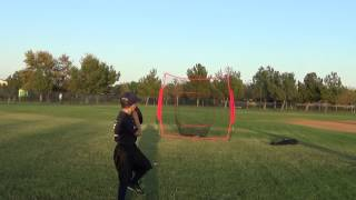 Download 7 year old baseball hitting and pitching drills with the PowerNet Video