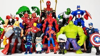 Download Romeo Created The Avengers Clone~! Hulk, Iron man, Thor, Captain America, Spider Man Toys Play Video
