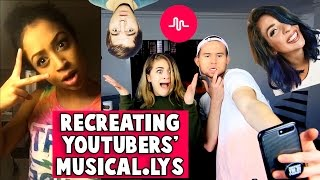 Download RECREATING YOUTUBERS' MUSICAL.LYs w/ Baby Ariel Video