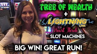 Download BIG WIN Awesome Run on Tree of Wealth Slot Machine! MAX Bet!!! Video