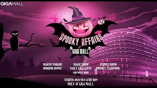 Download Spooky Affairs Halloween Event at Giga Mall, Islamabad   Life Skills TV Video