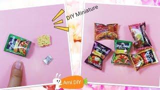 Download DIY Miniature Noodles / Cách làm mì gói thu nhỏ cho búp bê / Ami DIY Video