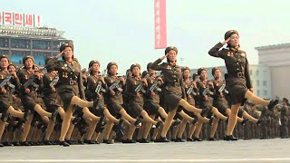 Download North Korea's Slow Motion Military - North Korea parade in Slow Motion Video