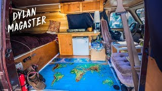 Download I spent ONE MONTH CONVERTING my VAN into my OFF GRID MICRO HOME Video