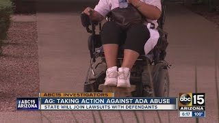 Download Taking action against ADA abuse Video