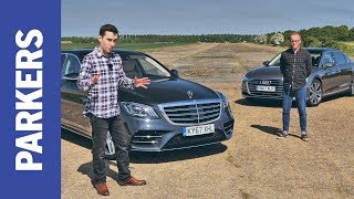 Download Audi A8 vs Mercedes-Benz S-Class review | Which is the ultimate executive limo? FEAT. DRAG RACE Video