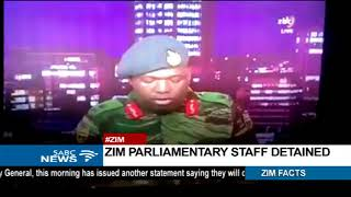 Download Zimbabwe parliamentary staff detained Video