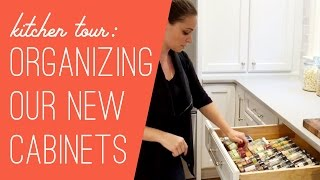 Download New Kitchen Cabinet Tour: What's Where? Video