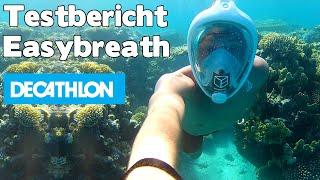 Download Test Testbericht Easybreath Decathlon Tribord Schnorchelmaske in Ägypten - auf deutsch Video