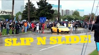Download Cars Leaving Houston Coffee and Cars In The RAIN! Video
