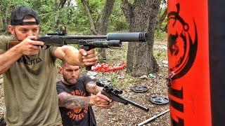 Download Frankengun vs Heavy Bag!!! Video