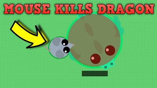 Download MOUSE KILLS DRAGON IN MOPE.IO! Funny Moments & Trolling Mope.io! (Mope.io New Update) Video