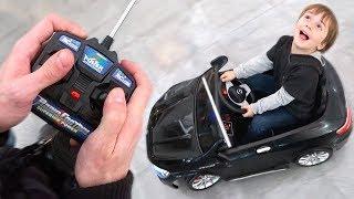 Download CARRINHO DE CONTROLE REMOTO GIGANTE E PARQUE DE DIVERSÃO DOS BRINQUEDOS!! RC Car Toy Kids Fun Video