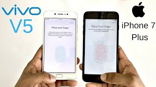 Download Vivo V5 vs iPhone 7 Plus Fingerprint Scanner Speed Test! Which Is Faster? Video