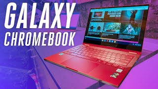 Download Samsung Galaxy Chromebook hands-on: ultra premium and super red Video