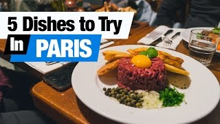 Download French Food Tour - 5 Dishes to Try in Paris, France! (Americans Try French Food) Video