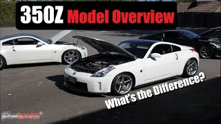 Download Nissan 350Z Model overview and comparison | AnthonyJ350 Video