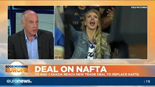 Download US and Canada reach new trade deal to replace NAFTA Video
