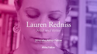 Download Artist and Writer Lauren Redniss | 2016 MacArthur Fellow Video