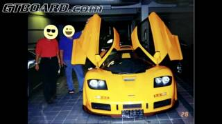 Download NEVER BEFORE SEEN Sultan of Brunei pictures Dauer 962, 959, McLaren F1, yellow F50, Ferrari FX Video