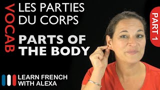 Download Body Vocabulary in French Part 1 (basic French vocabulary from Learn French With Alexa) Video