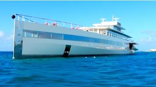 Download Ever Seen Steve Jobs MEGAYACHT ″Venus″? Here it is in St Maarten, CARIBBEAN! Video