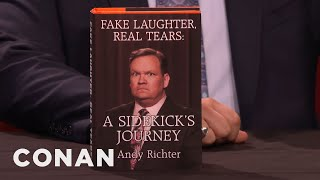 Download Andy Richter's New Best-Selling Memoirs - CONAN on TBS Video
