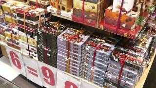 Download Chocolate, waffles and other sweets in Brussels Video