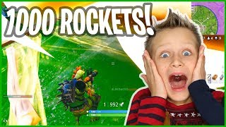 Download 1000 Rockets All at ONCE! Video