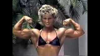 Download Big Biceps - Female Muscle Flexing Video