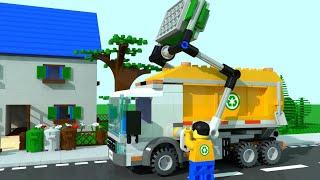 Download Lego City Garbage Trucks for Children, Kids. Garbage Truck Cartoon Video