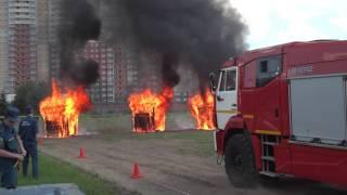 Download КАМАЗ тушение пожара системой HIROMAX Video