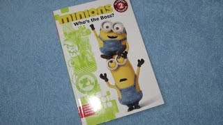 Download MINIONS ~ Who's The Boss Children's Read Aloud Story Book For Kids Video
