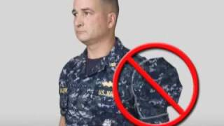 Download Navy Working Uniform (NWU) Instructional Video Part 1 Video