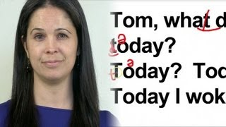 Download English Pronunciation Study: What did you do Today? Video