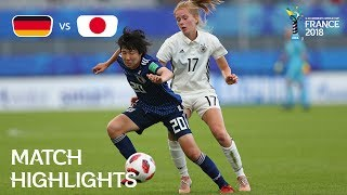 Download Germany v Japan - FIFA U-20 Women's World Cup France 2018 - Match 28 Video