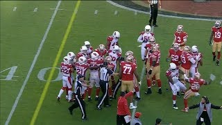 Download Late Hit On C.J. Beathard Causes Fight With 3 Ejections   Cardinals vs 49ers   NFL Video