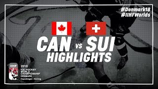 Download Game Highlights: Canada vs Switzerland May 19 2018 | #IIHFWorlds 2018 Video