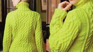 Download #14 Cabled Turtleneck, Vogue Knitting Winter 2012/13 Video