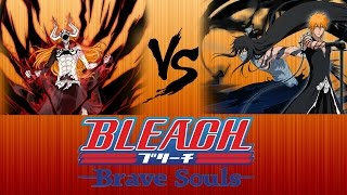 Download Bleach Brave Souls:FH Ichigo Vs Dangai Ichigo - Who Wins? Video