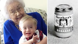 Download Original Gerber Baby, 91, Meets Newest One, Who Has Down Syndrome Video