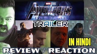 Download AVENGERS ENDGAME TRAILER REVIEW REACTION IN HINDI | AVENGERS 4 Video