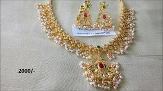 Download One gram gold jewellery wholesale with price Video