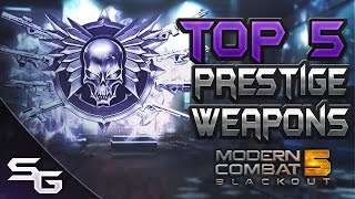 Download MODERN COMBAT 5: Top 5 Armas de Prestigio Video